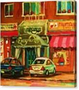 Mary Seltzer Dress Shop Canvas Print