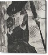 Mary Stevenson Cassatt Canvas Print