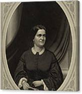 Mary Todd Lincoln, First Lady Canvas Print