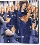 Mary With Baby Jesus Canvas Print
