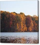 Maryland Autumns - Clopper Lake - Fall Bloom Canvas Print