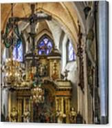 Mary's Church Canvas Print
