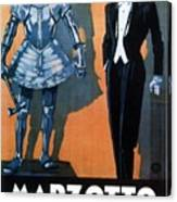 Marzotto - Italian Textile Company - Vintage Advertising Poster Canvas Print