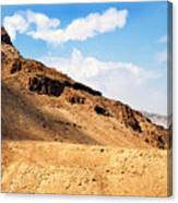 Masada Mountaintop Fortress Canvas Print