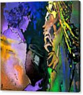 Masai Encounter Canvas Print