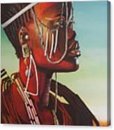 Masai Canvas Print