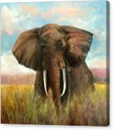 Masai King Canvas Print