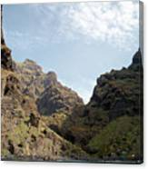 Masca Valley Entrance 2 Canvas Print