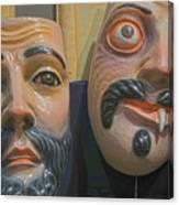 Mascaras 5 Canvas Print