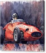 Maserati 250f Canvas Print