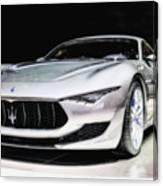 Maserati Alfieri Concept 2014 Canvas Print
