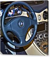 Maserati Interior Canvas Print