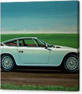 Maserati Khamsin 1974 Painting Canvas Print