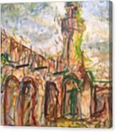 Masjed II Canvas Print