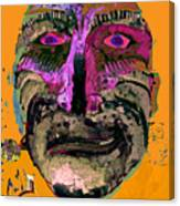 Mask 7 Canvas Print