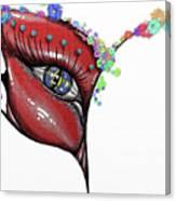 Mask Elegance Canvas Print