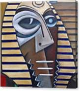 Mask Of The Enigmatic Canvas Print