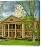 Mason County Courthouse Canvas Print