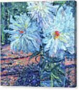 Mason Jar Blues Canvas Print