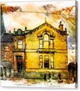 Masonic Lodge 2 Canvas Print