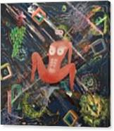 Masquerade Canvas Print
