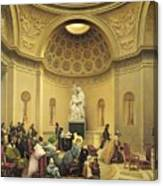 Mass In The Expiatory Chapel Canvas Print