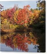 Massachusetts Color Canvas Print