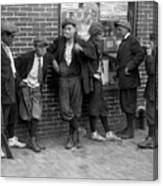 Massachusetts: Gang, C1916 Canvas Print