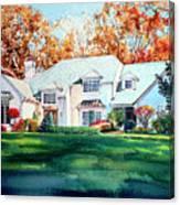 Massachusetts Home Canvas Print