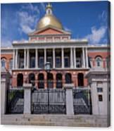 5- Massachusetts State House Eckfoto Boston Freedom Trail Canvas Print