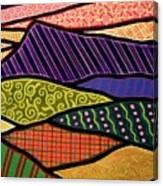 Massanutten Sunset Canvas Print