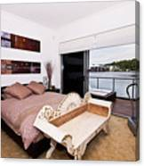Master Bedroom With A View Canvas Print