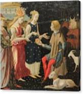 Master Of The Argonaut Panels Canvas Print