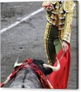 Matador El Juli Canvas Print