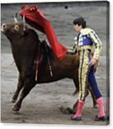 Matador Miguel Angel Perera I Canvas Print