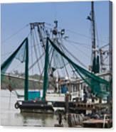 Matagorda Fishing Boats Canvas Print