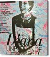 Match - Diana Canvas Print
