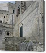Matera Houses Canvas Print