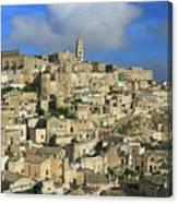 Matera Italy Canvas Print