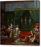 Private Chamber Of An Aristocratic Turkish Woman Canvas Print
