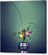 Math Flower 5 Canvas Print