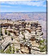 Mather Point At The Grand Canyon Canvas Print