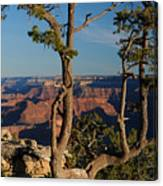 Mather Point South Rim Grand Canyon Canvas Print