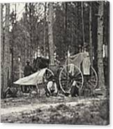 Mathew Brady Wagon Canvas Print