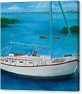 Matilda In The Florida Keys Canvas Print