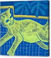 Matisse's Cat In Reverse Canvas Print