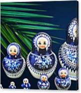 Matreshka Doll Canvas Print