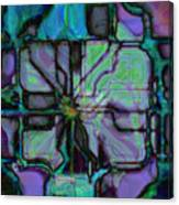 Matrices In Glass Houses Canvas Print