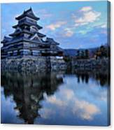 Matsumoto Castle 1182 Canvas Print