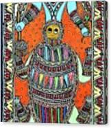 Matsya Awatar Canvas Print